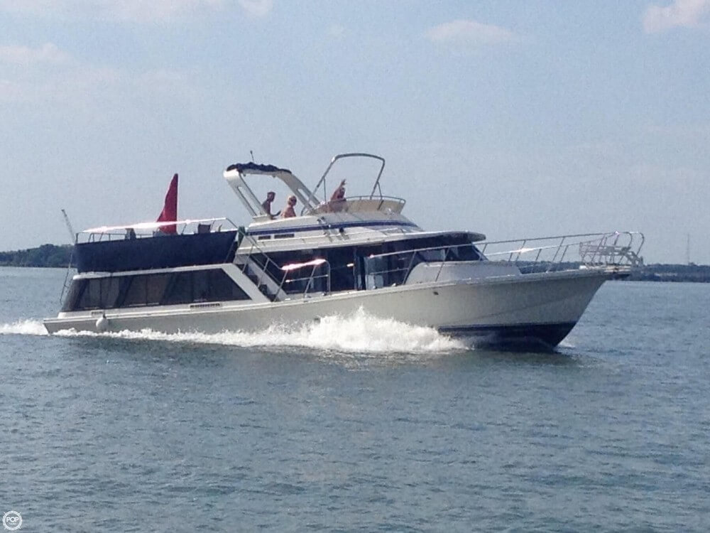 1987 Bluewater 51 Coastal Cruiser - Photo #2