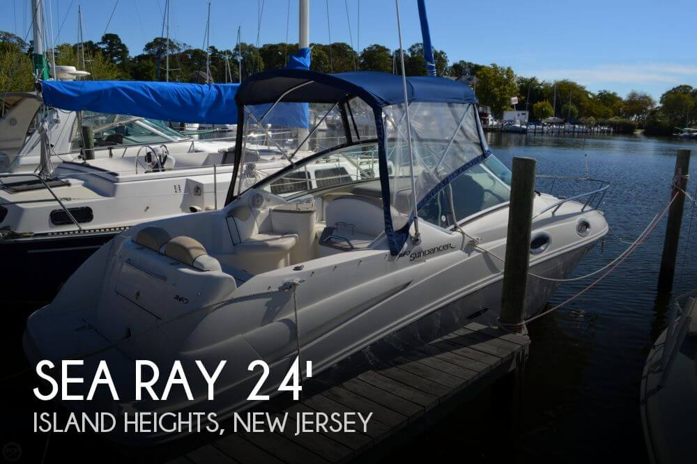 2008 Sea Ray 240 Sundancer - Photo #1
