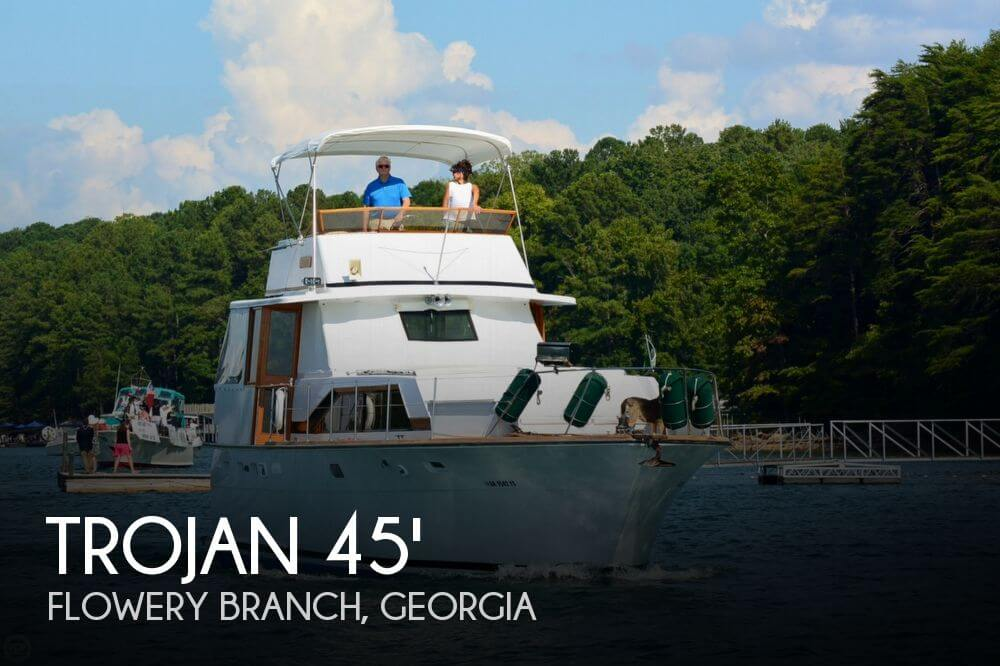 1974 Trojan F44 Motor Yacht - Photo #1