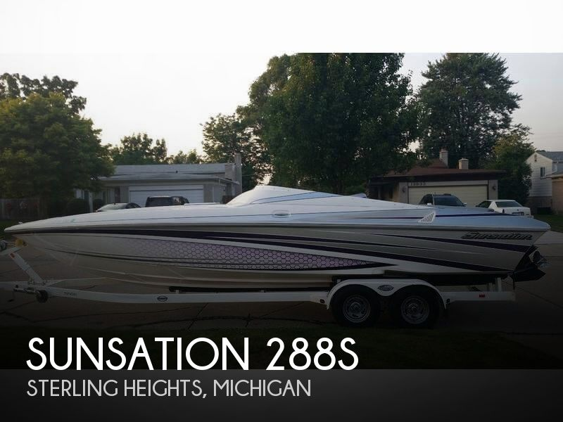 2013 Sunsation boat for sale, model of the boat is 288S & Image # 1 of 41