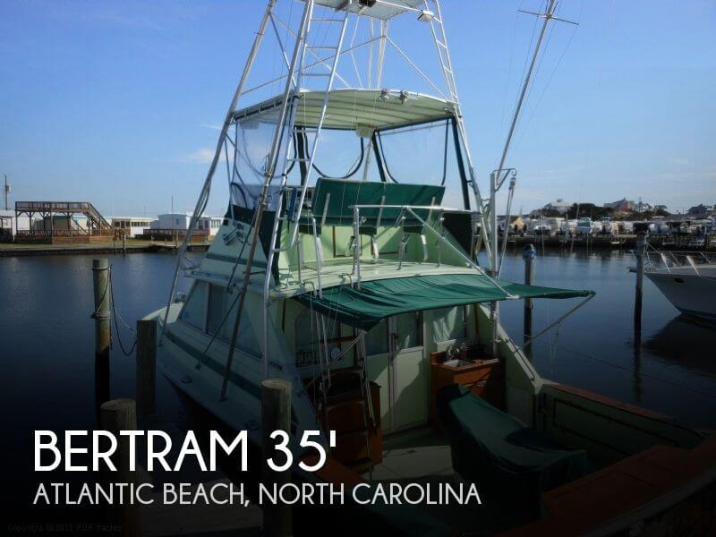 1973 Bertram 35 Convertible - Photo #1