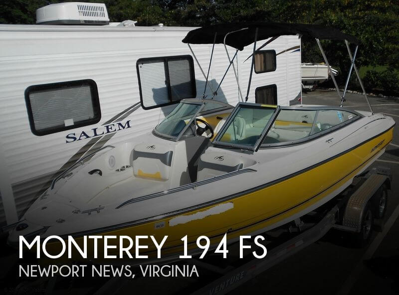 2011 MONTEREY 194 FS for sale
