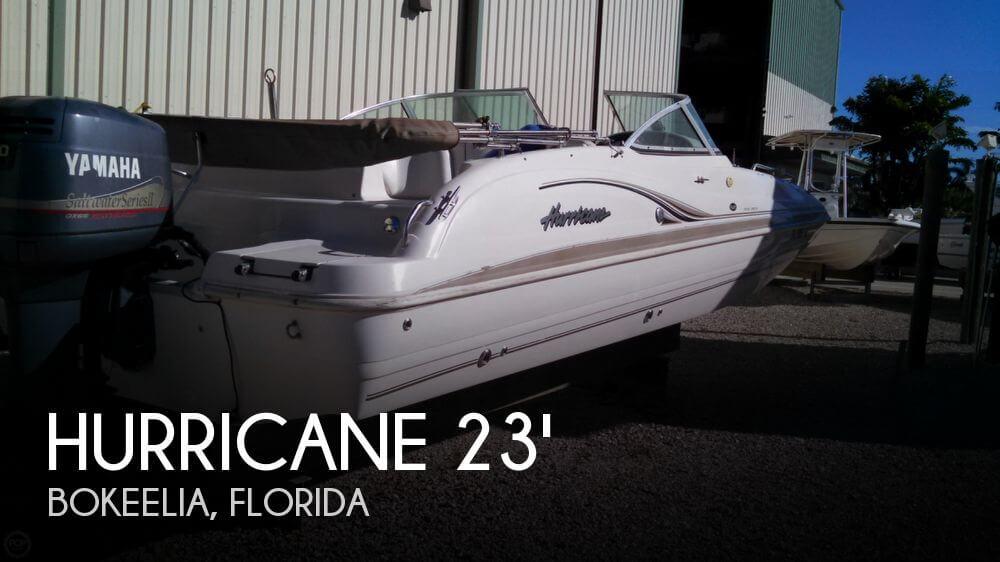 2003 Hurricane 237 Sundeck - Photo #1