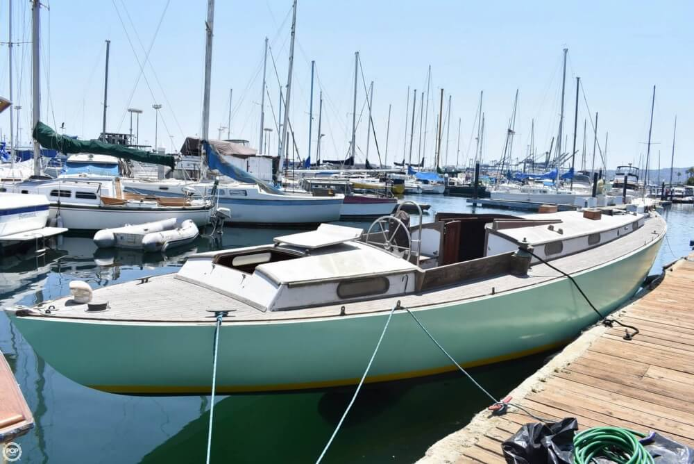 1956 William Garden boat for sale, model of the boat is 45 Yawl & Image # 6 of 40