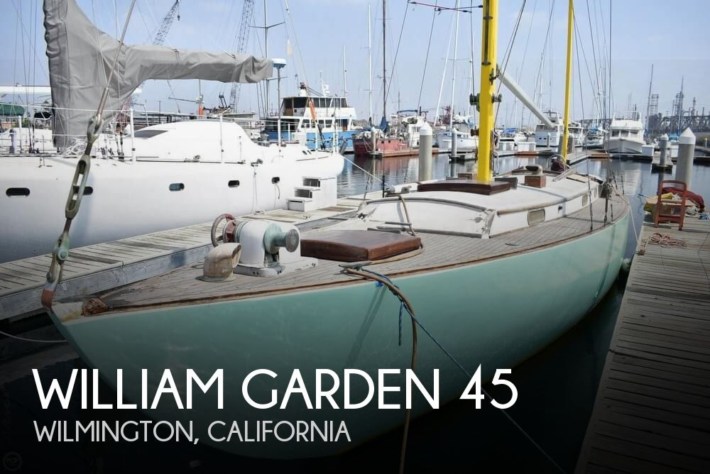 1956 William Garden boat for sale, model of the boat is 45 Yawl & Image # 1 of 40