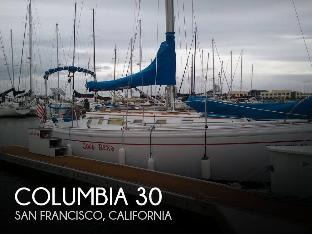 For sale used 1972 columbia 30 in san francisco for Motor boat rental san francisco