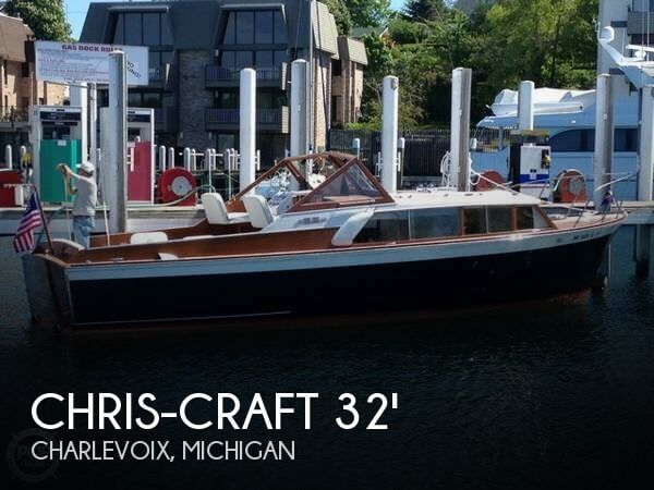 Used Chris Craft Boats For Sale in Michigan by owner | 1960 Chris-Craft 32