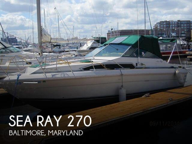1988 Sea Ray 270 - Photo #1