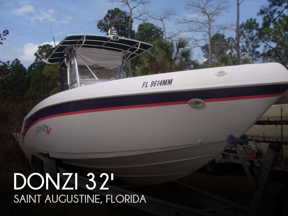 Canceled donzi 32 zf center console boat in saint for Donzi fishing boats
