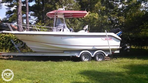 2002 Boston Whaler boat for sale, model of the boat is 230 Outrage & Image # 2 of 41