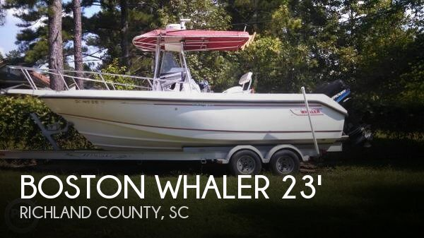 Used Boats For Sale in Columbia, South Carolina by owner | 2002 Boston Whaler 23
