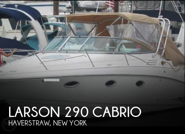 2000 Larson boat for sale, model of the boat is 290 Cabrio & Image # 1 of 22
