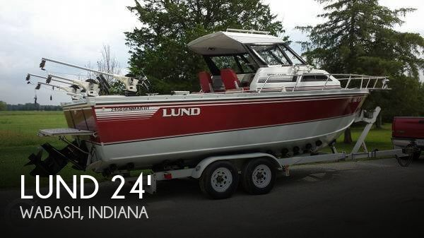 Lund Boat Dealers >> CANCELED: Lund 2450 Genmar HT Sport Cabin boat in Wabash, IN | 061222