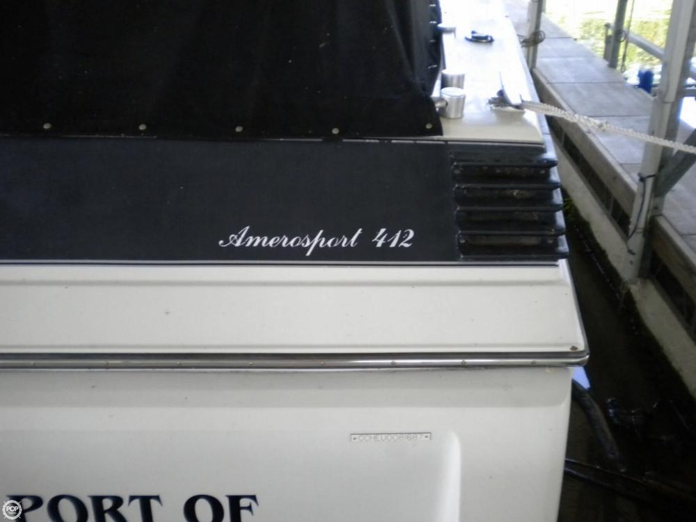 1987 Chris-Craft 412 Amerosport - Photo #38