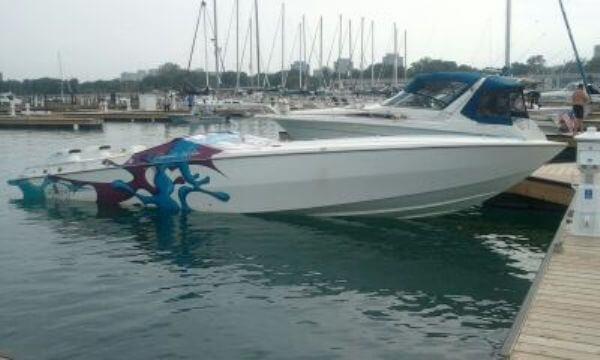 1994 Cigarette boat for sale, model of the boat is 38 Top Gun & Image # 4 of 40