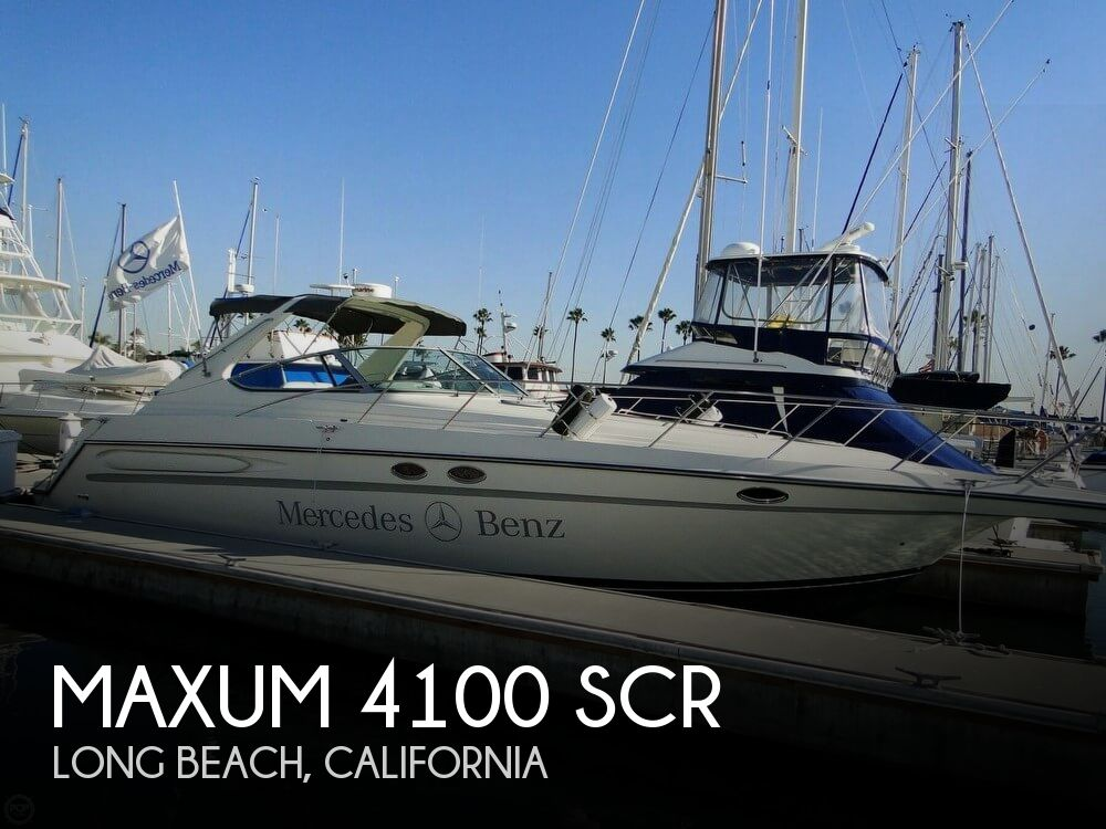 1998 Maxum 4100 SCR - Photo #1