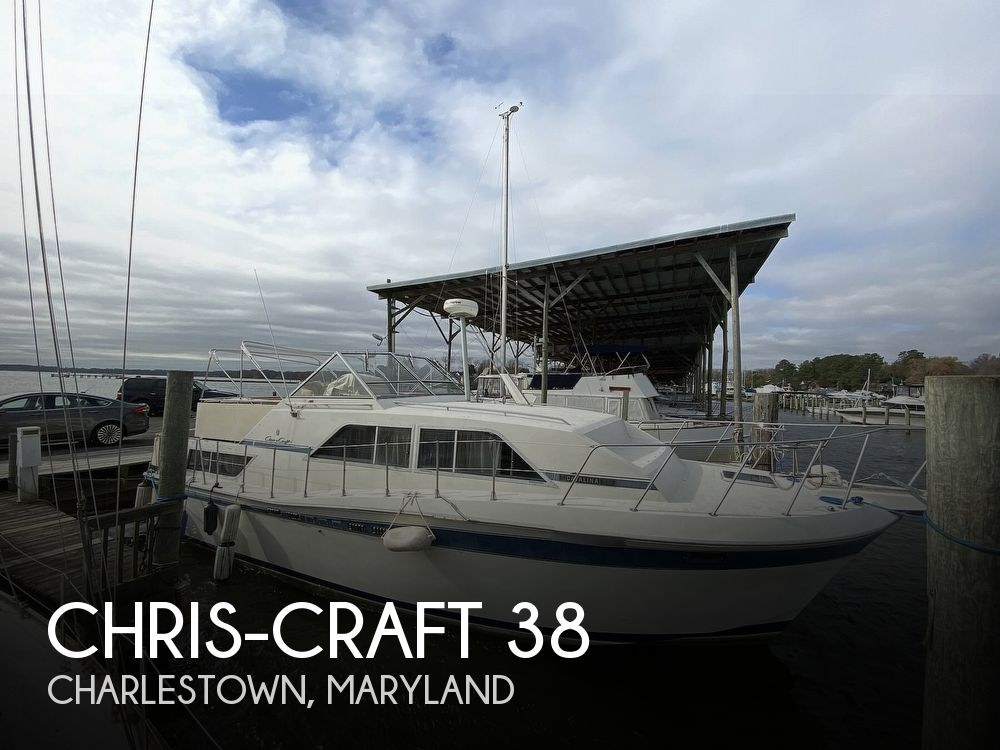 Used Motoryachts For Sale in Lancaster, Pennsylvania by owner | 1985 Chris-Craft Catalina 38