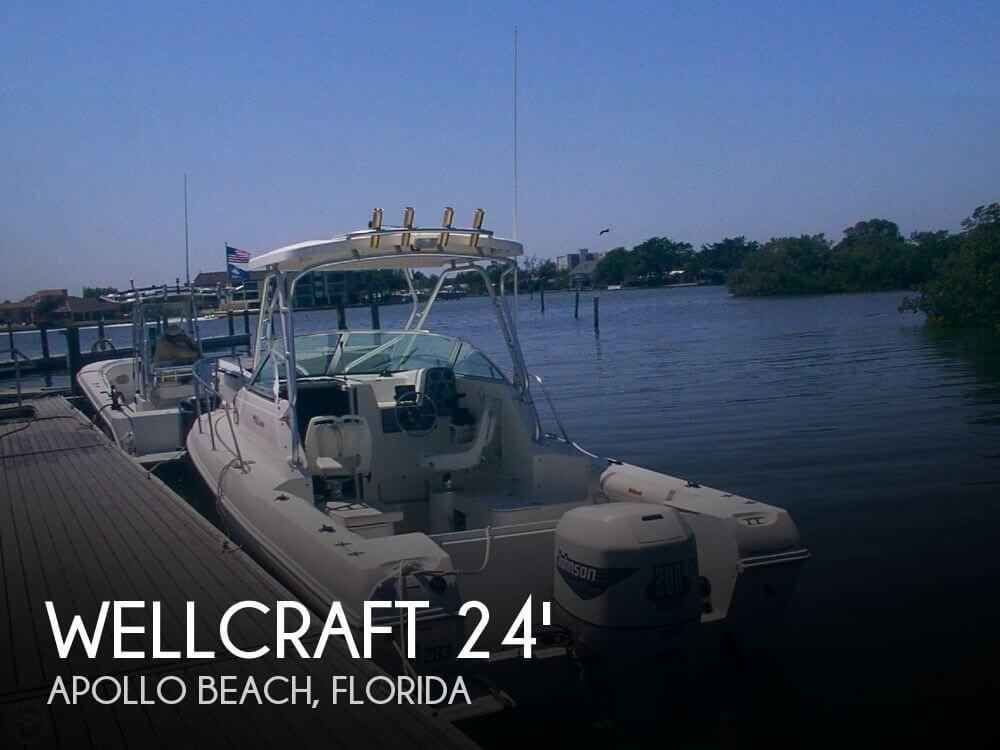 2000 Wellcraft 24 Walkaround
