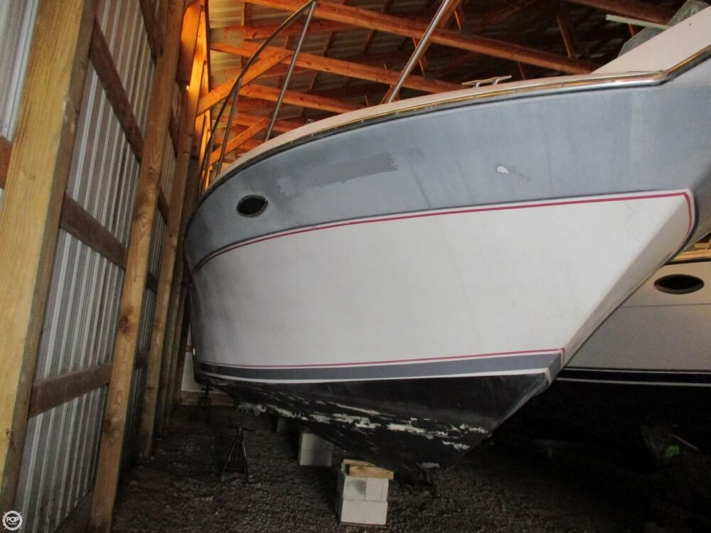 1987 Chris Craft boat for sale, model of the boat is 320 Amerisport Express & Image # 4 of 40