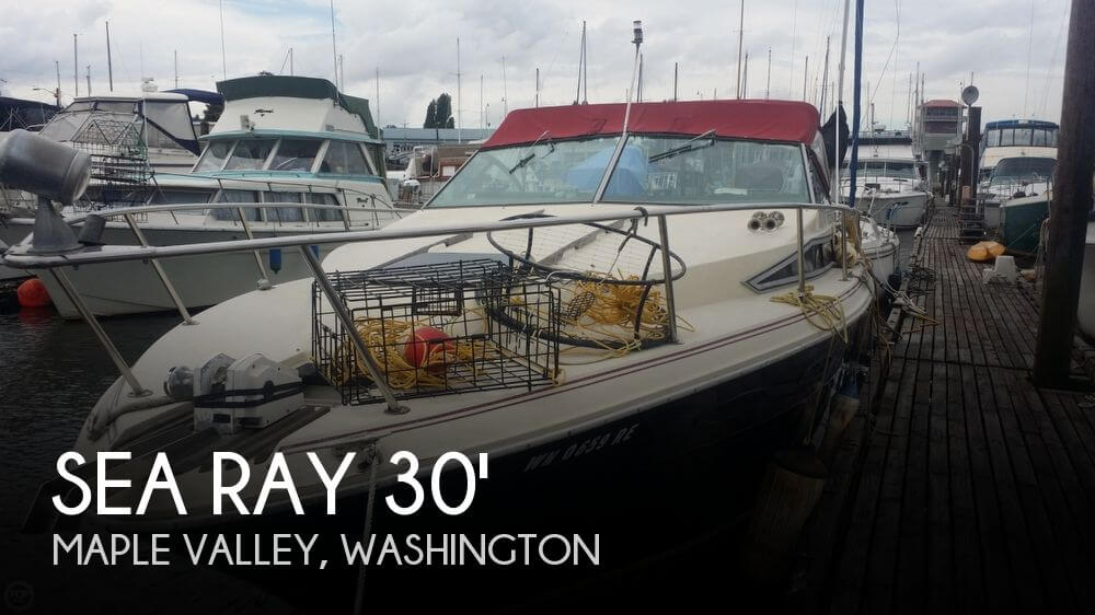 1985 Sea Ray 30 Weekender - Photo #1