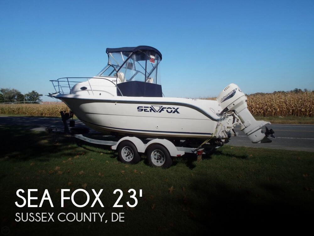 2000 Sea Fox 230 Walkaround - Photo #1