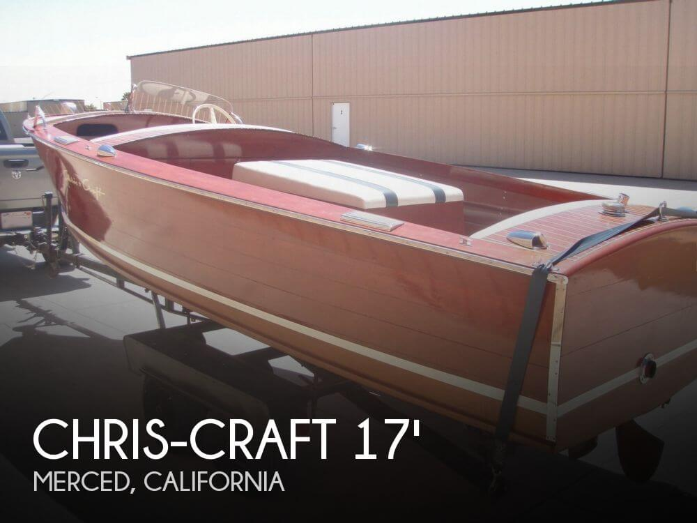 1954 Chris-Craft Sportsman Deluxe - Photo #1
