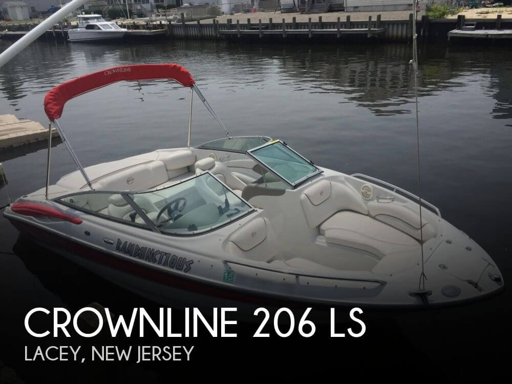 2005 Crownline boat for sale, model of the boat is 206 LS & Image # 1 of 40
