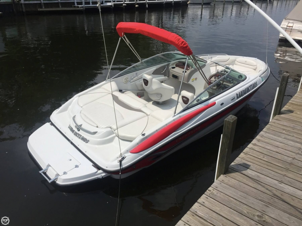 2005 Crownline boat for sale, model of the boat is 206 LS & Image # 13 of 40