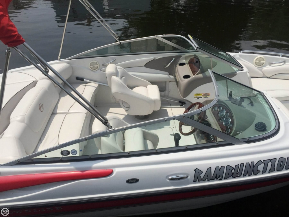 2005 Crownline boat for sale, model of the boat is 206 LS & Image # 16 of 40