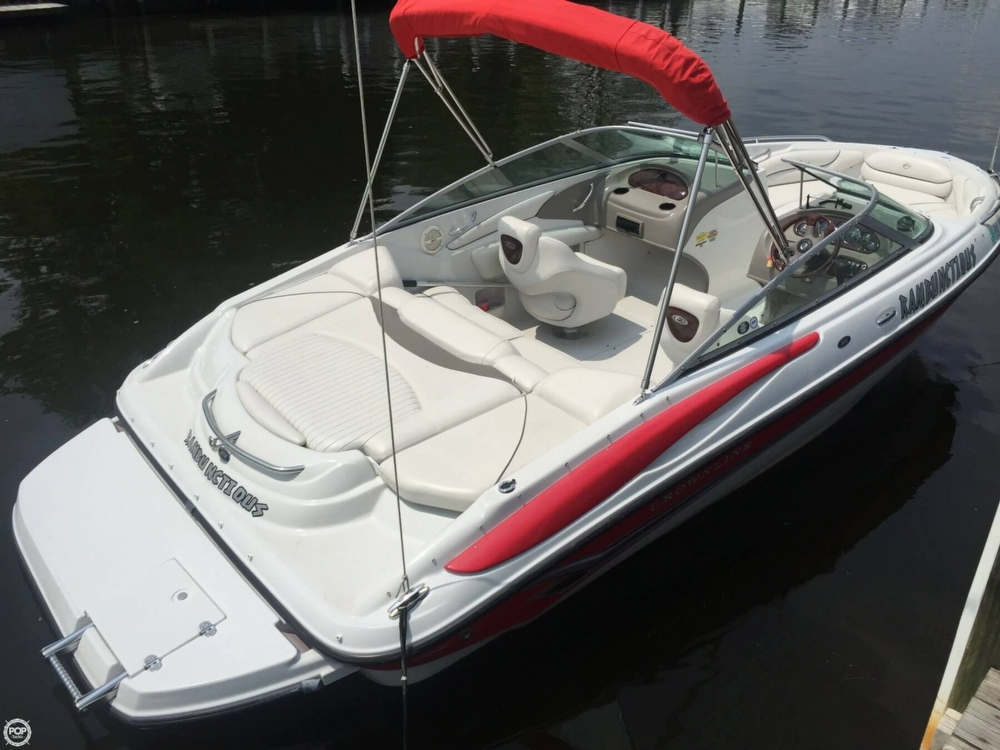 2005 Crownline boat for sale, model of the boat is 206 LS & Image # 17 of 40