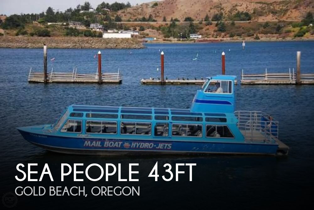 1987 Sea People Manufacturing 43ft