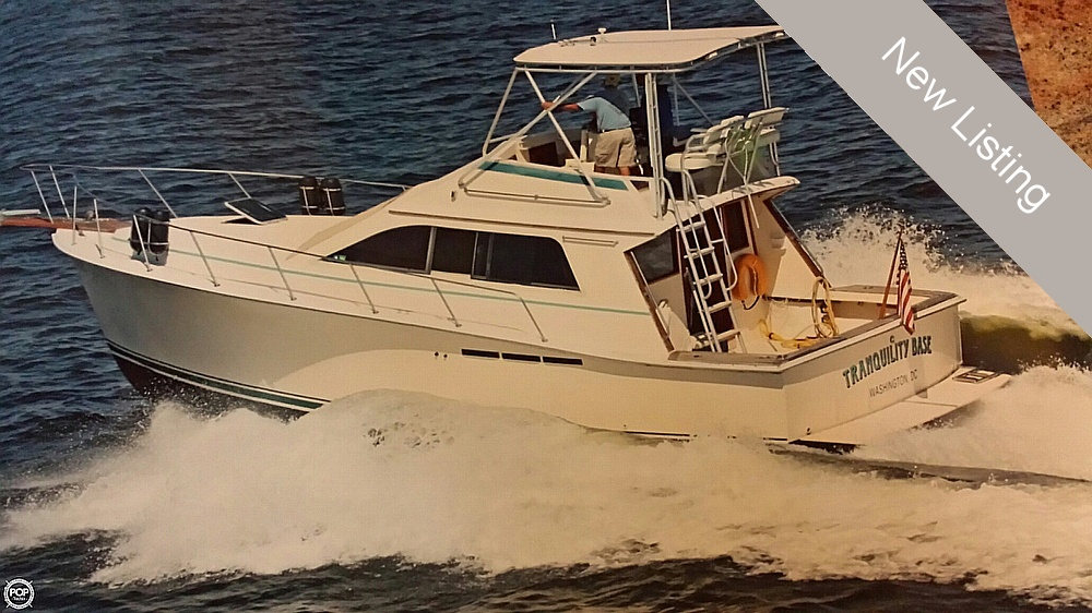 1989 Pacemaker 33 Sportfish - Photo #9