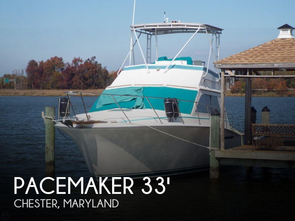 1989 Pacemaker 33 Sportfish - Photo #1