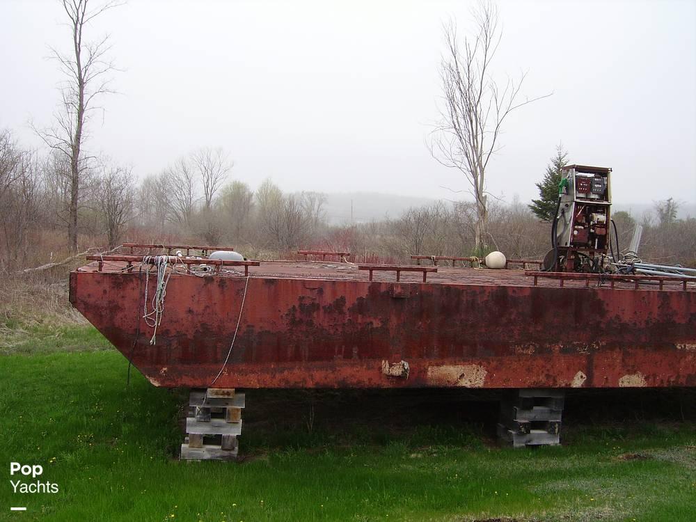 Corten Steel 16x40 Little Dipper Boat For Sale In Thomaston Me
