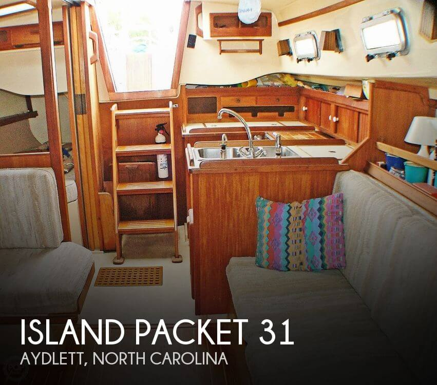 Used Sailboats For Sale >> Island Packet 31' sailboat for sale in Aydlett, NC for ...