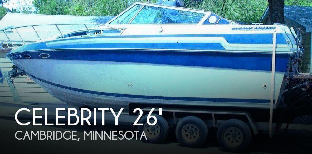 1988 CELEBRITY 266 CROWNLINE for sale