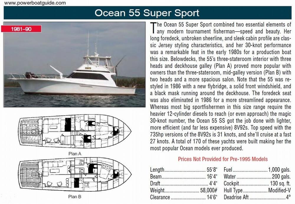 1989 Ocean 55 Super Sport FS - Photo #2