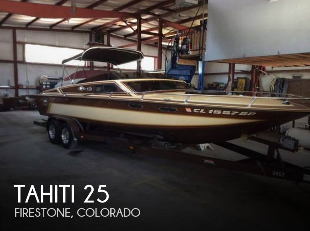 Used Boats For Sale in Fort Collins, Colorado by owner | 1983 Tahiti 25
