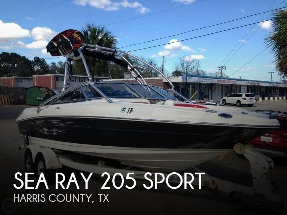 2006 Sea Ray 205 Sport - Photo #1