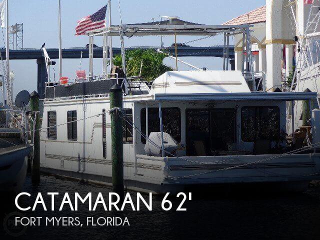 canceled catamaran cruisers 62 houseboat boat in fort myers fl 006459. Black Bedroom Furniture Sets. Home Design Ideas
