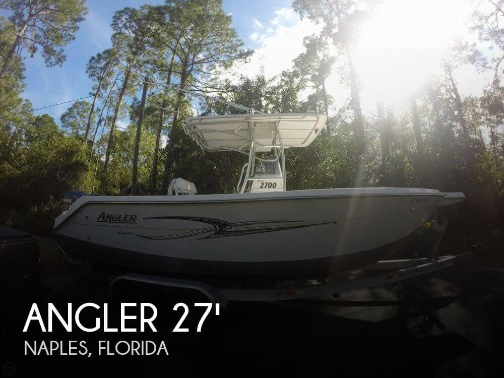 2007 Angler 2700 Limited Edition - Photo #1
