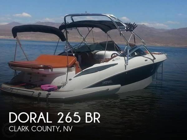 2006 DORAL INTERNATIONAL 265 BR for sale