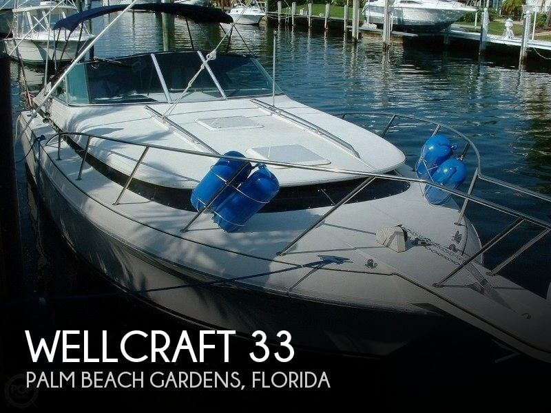 Used Wellcraft Boats For Sale in Florida by owner | 1991 Wellcraft 33