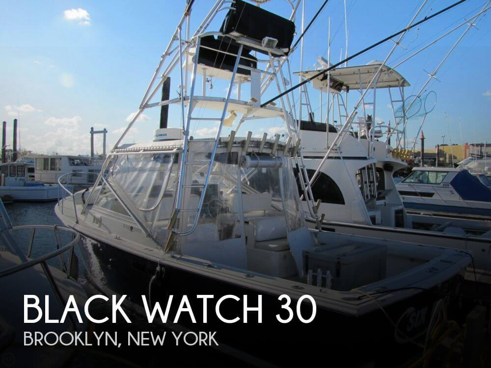 Black watch 30 39 boat for sale in brooklyn ny for 28 500 for Brooklyn fishing boat