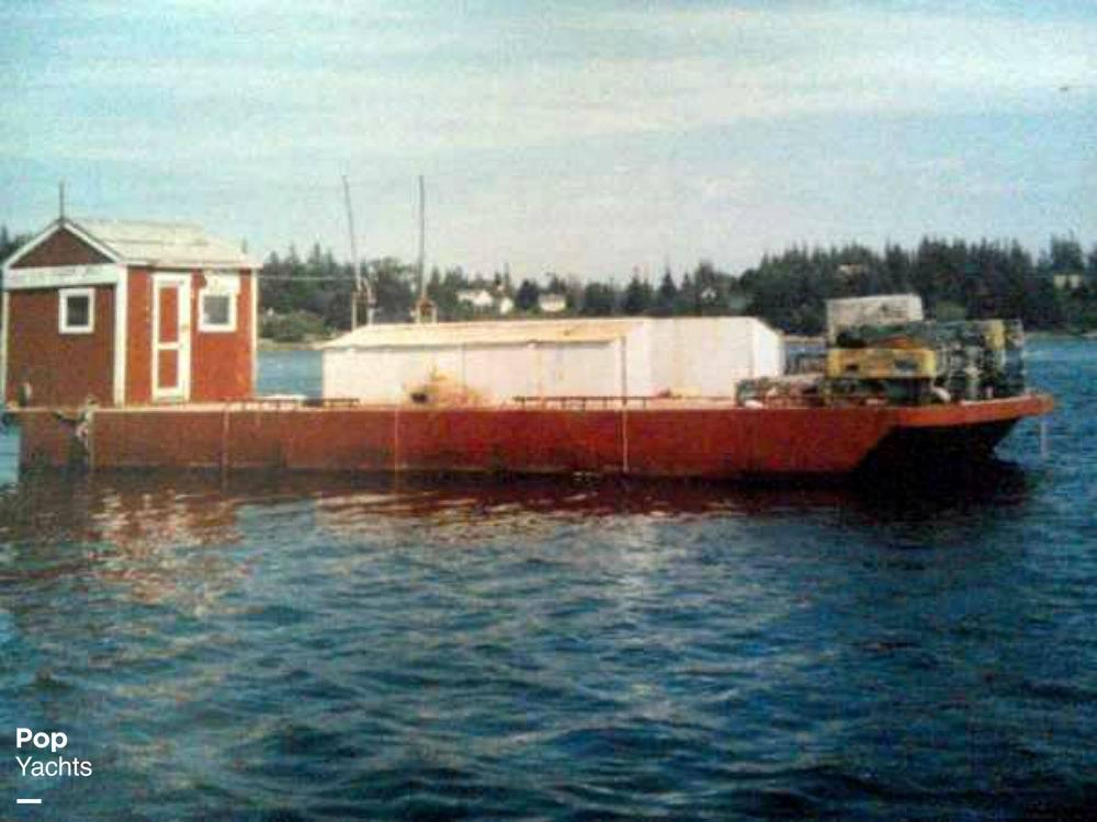 1994 Corten Steel 20' x 52' Barge - #$LI_INDEX