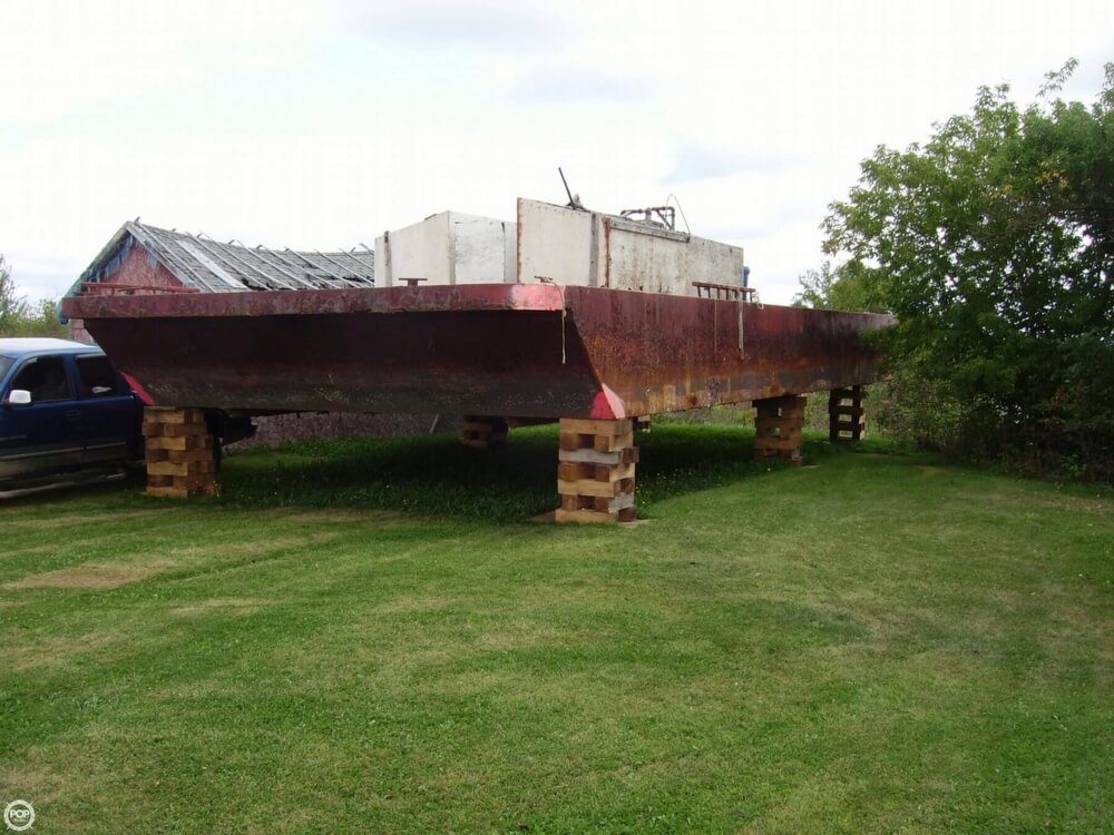 1994 Corten Steel boat for sale, model of the boat is 20' x 52' Barge & Image # 2 of 35