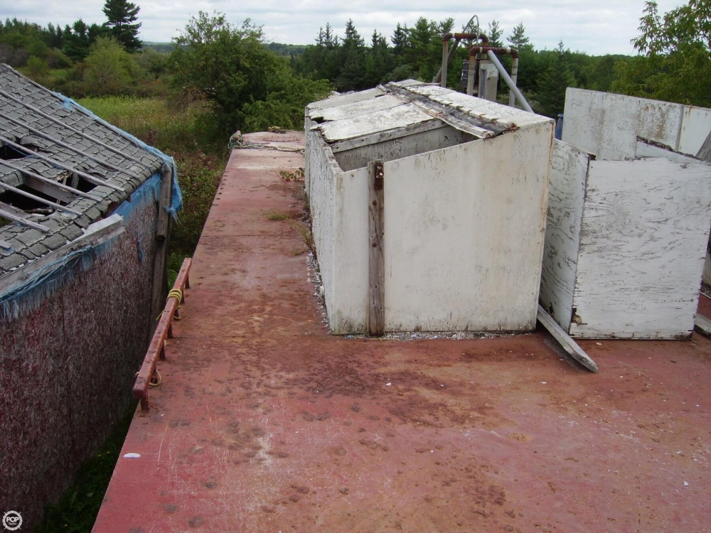 1994 Corten Steel boat for sale, model of the boat is 20' x 52' Barge & Image # 6 of 35