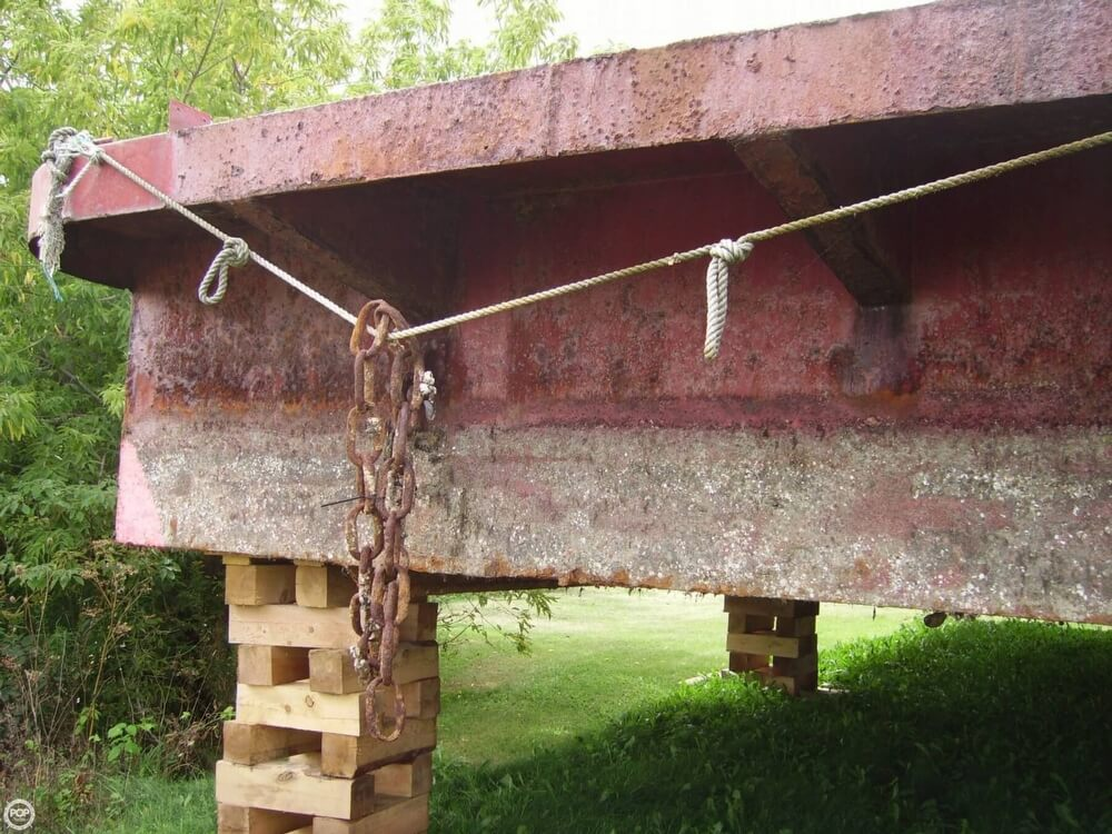1994 Corten Steel boat for sale, model of the boat is 20' x 52' Barge & Image # 13 of 35