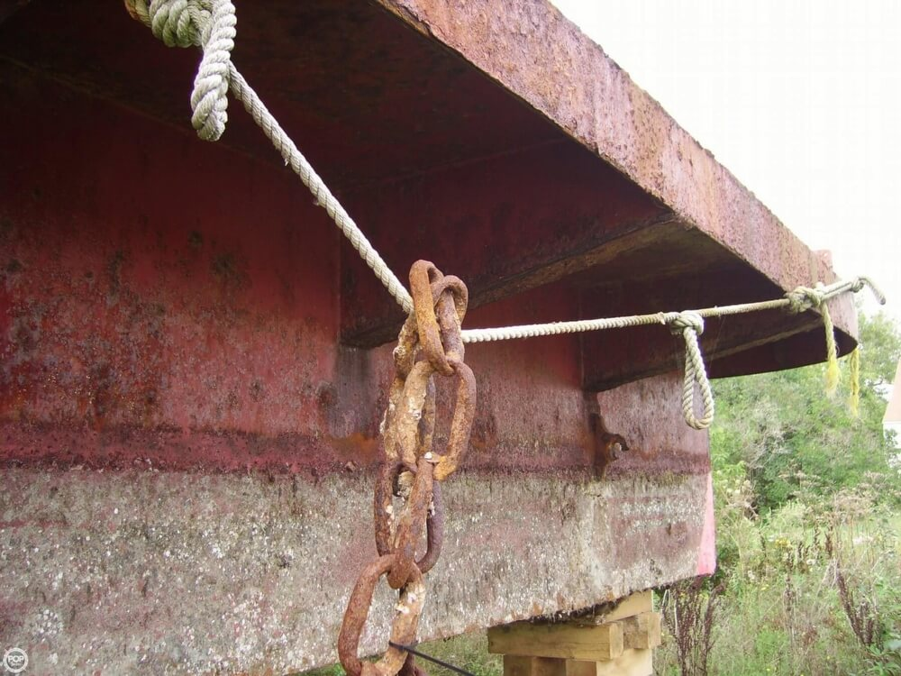 1994 Corten Steel boat for sale, model of the boat is 20' x 52' Barge & Image # 14 of 35