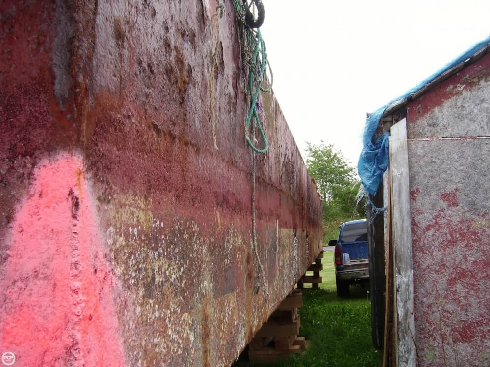 1994 Corten Steel boat for sale, model of the boat is 20' x 52' Barge & Image # 16 of 35